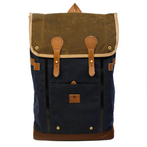 Babylon Backpack Navy+Brown 25500円