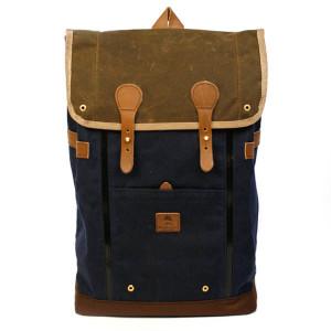 Babylon Backpack Navy+Brown 25500円